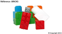 clé usb personnalisable bricks
