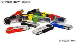 clé usb personnalisable new twist